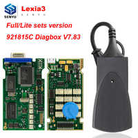 Lexia3 PP2000 Diagbox V7.83 921815C フルチップシトロエン用 obd obd2 診断ツール PP 2000 レキシア 3 自動スキャナ