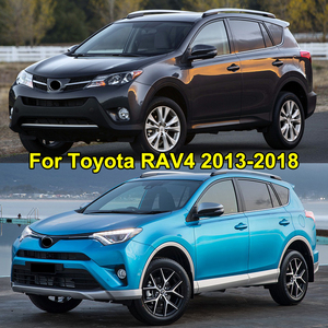 Image 5 - For Toyota RAV4 2013 2014 2015 2016 2017 2018 Door Lock Cover Arm Checker Stopper Buckle Case Guard Decoration Car Accessories