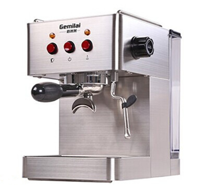 Frothy Coffee Maker Reviews : GO19Bar Semi Automatic Coffee Maker Espresso Machine with Froth Milk Stainless Steel 304 Housing ...