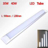 1200mm 40W AC110V 220V New LED Ceiling Lamp Tube SMD 2835 EPISTAR Aluminum PC Case Anti