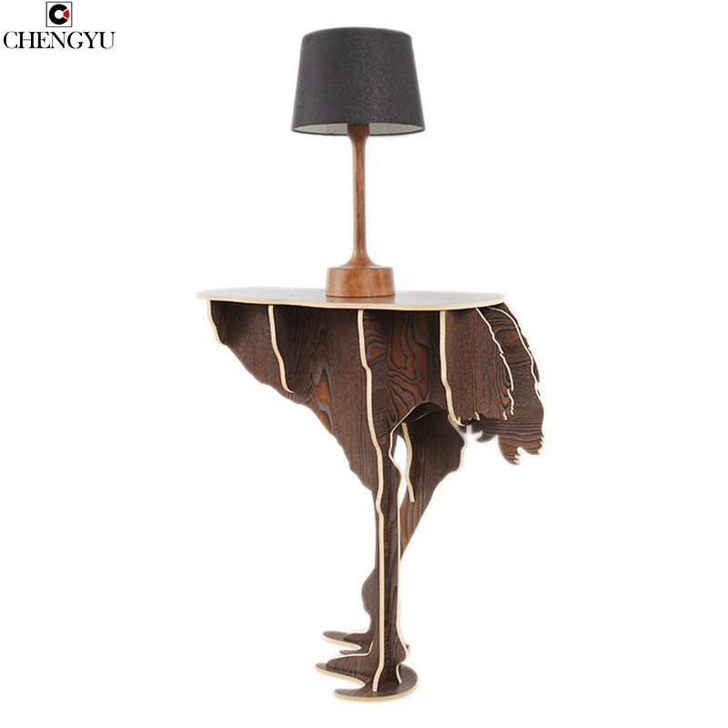 Creative Assembly Wooden Table  Modern Home  Creative Wall  Wall Living Room Casual Coffee Table Household Goods 92*83*6cm