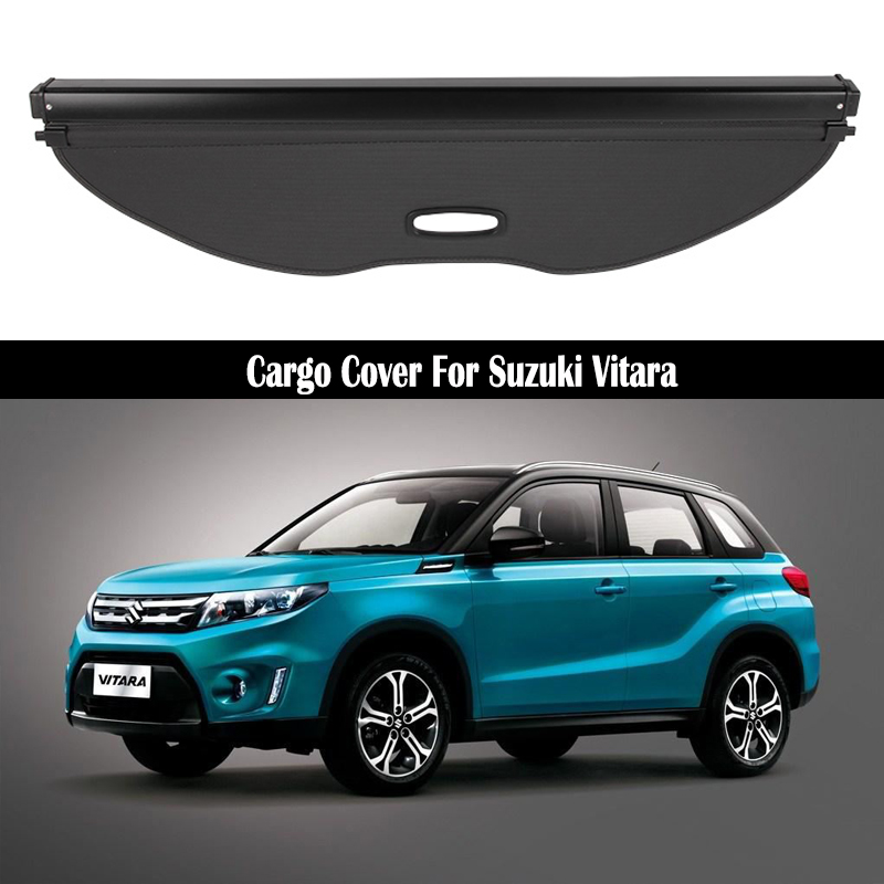 for Suzuki Vitara Trunk Anti-Scratch Anti-Collision Waterproof Protective Car Styling JKGHK Car Carbon Fiber Rear Bumper Protector