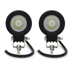 4pcs 10w Round LED Work Light Offroad Car Auto Truck ATV Motorcycle Trailer 4WD Pickup 4X4 12V 24V Headlight Driving Fog Lamp