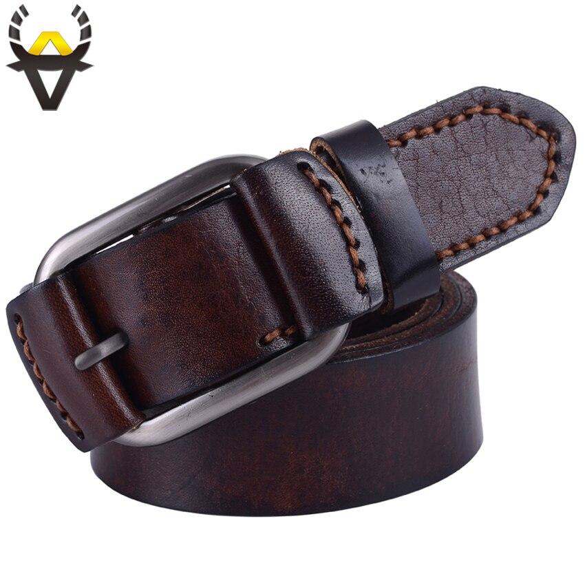fashion genuine leather belt luxury belts wide