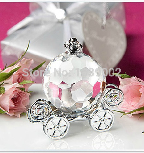 Cheap Return Gifts For Wedding: Very Cheap Crystal Crafts Collection Pumpkin Carriage