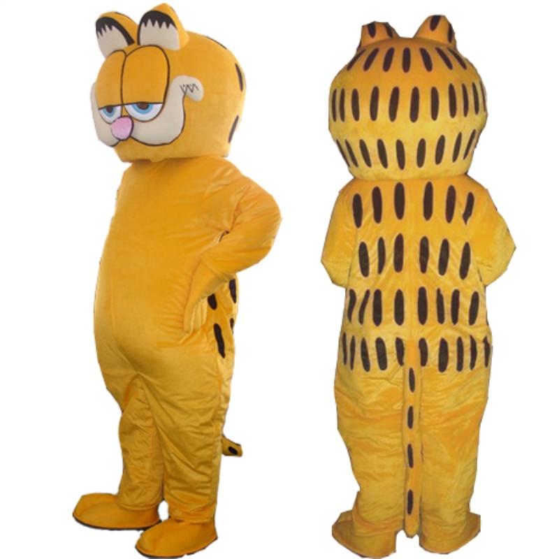 Olcsó állat Garfield macska kabalája jelmez díszes ruha felnőtt - Jelmezek