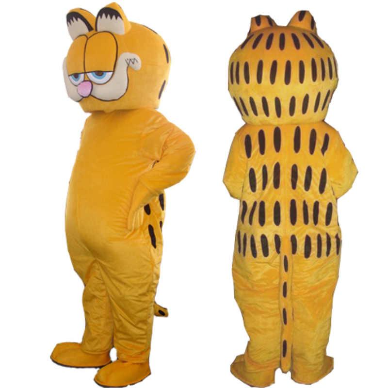 Cheap Animal Garfield Cat Mascot Costume Fancy Dress Adult Size Cat Mascot Costume Mascot Adultanimal Mascot Costume Aliexpress