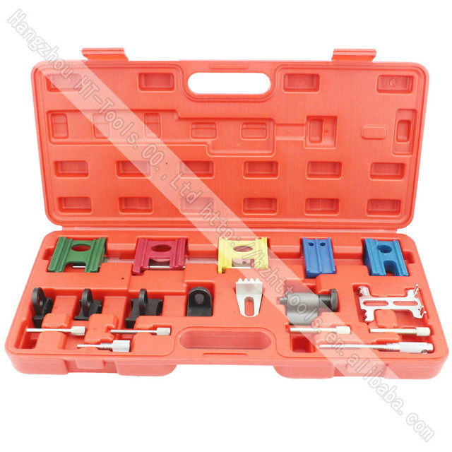 19 Pcs Camshaft Locking Tool Engine Timing Locking Belt Garage Hand Tool Set Kit For VW
