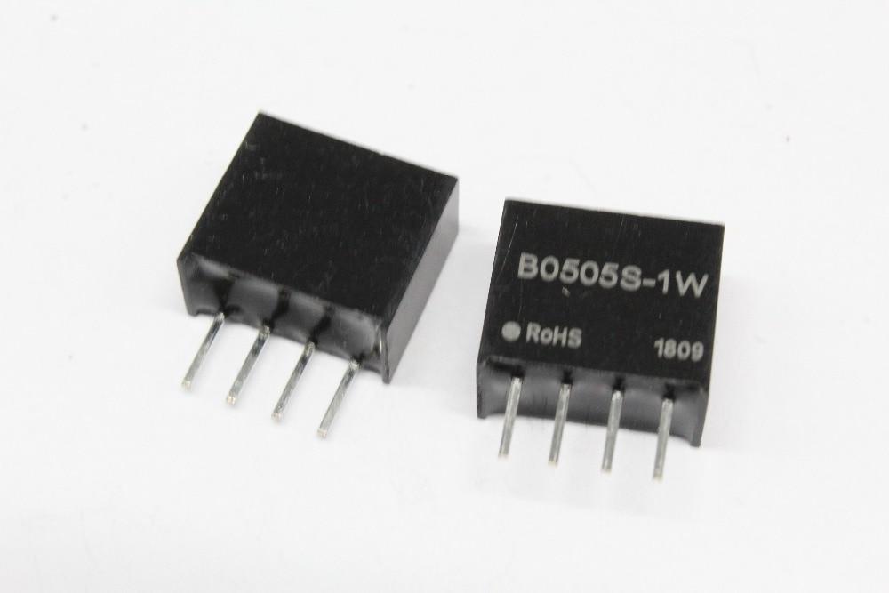 Free Shipping, 1PCS DC-DC Isolation Power Module B0505S-1W B0505S B0505 SIP-4 5V To 5V
