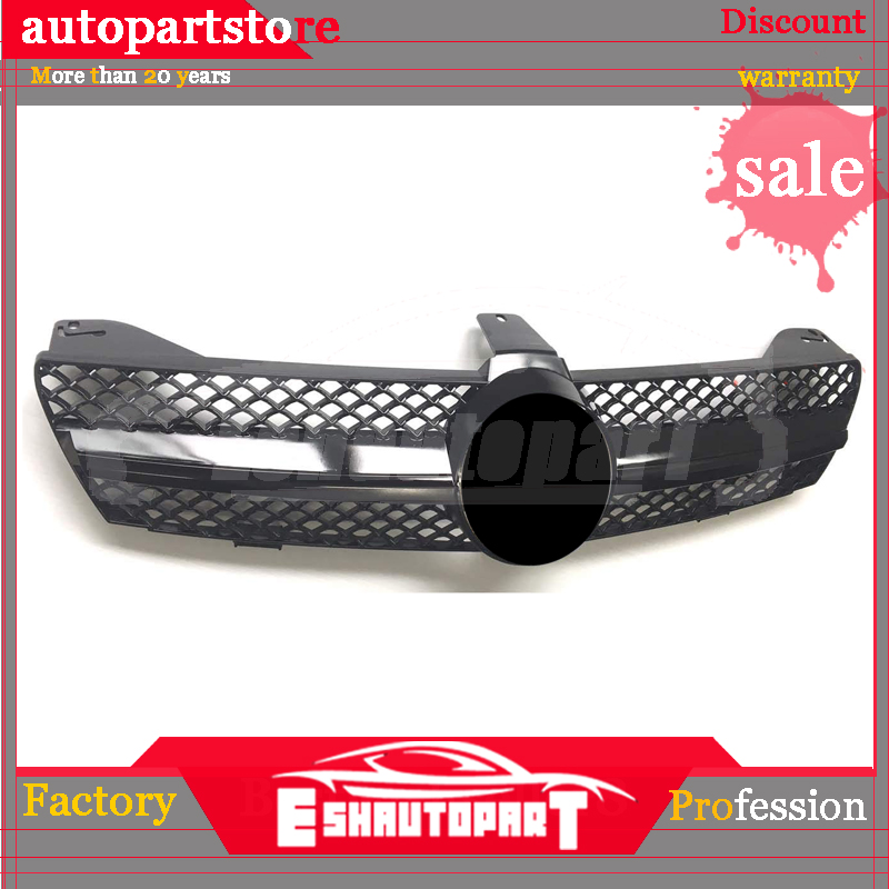 Sliver/Black Car Racing <font><b>Grill</b></font> For Mercedes Benz <font><b>W219</b></font> CLS500 SLS600 Grille Emblems Chrome Mesh Radiator Front Bumper Lower Modify image