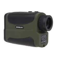 BOBLOV 600 M 6x Multifonction Laser Range Finder Monoculaire Télescope Chasse Golf Distance Camouflage/ArmyGreen/Noir navires Gratuits