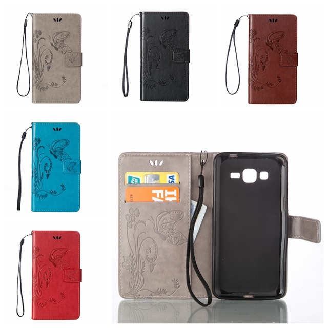 the best attitude 817ba 8116a US $2.79 10% OFF|Gran Prime Case Printed Leather Wallet Flip Case For  Samsung Galaxy Grand Prime VE G530 G531 SM G531H G531F duos Card Holder-in  Flip ...