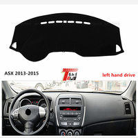 TAIJS Left Hand Drive For Mitsubishi ASX 2013 2015 Car Dashboard Mat Sun Proof Pad For