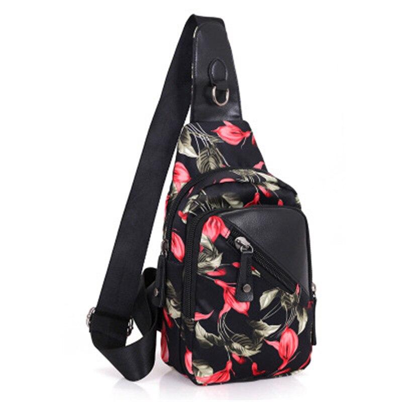 Morning Glory Crossbody сумки для мужчин женские дорожные сумки повседневные Грудь пакет Водонепроницаемый Один плечевой ремень сумка-мессенджер Ba