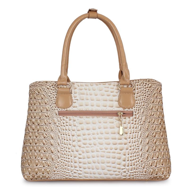 Image 4 - ZMQN Famous Brand Women Handbags Ladies Hand Bags Luxury Handbags Women Bags Designer 2019 Crocodile Leather Bags For Women C804-in Top-Handle Bags from Luggage & Bags