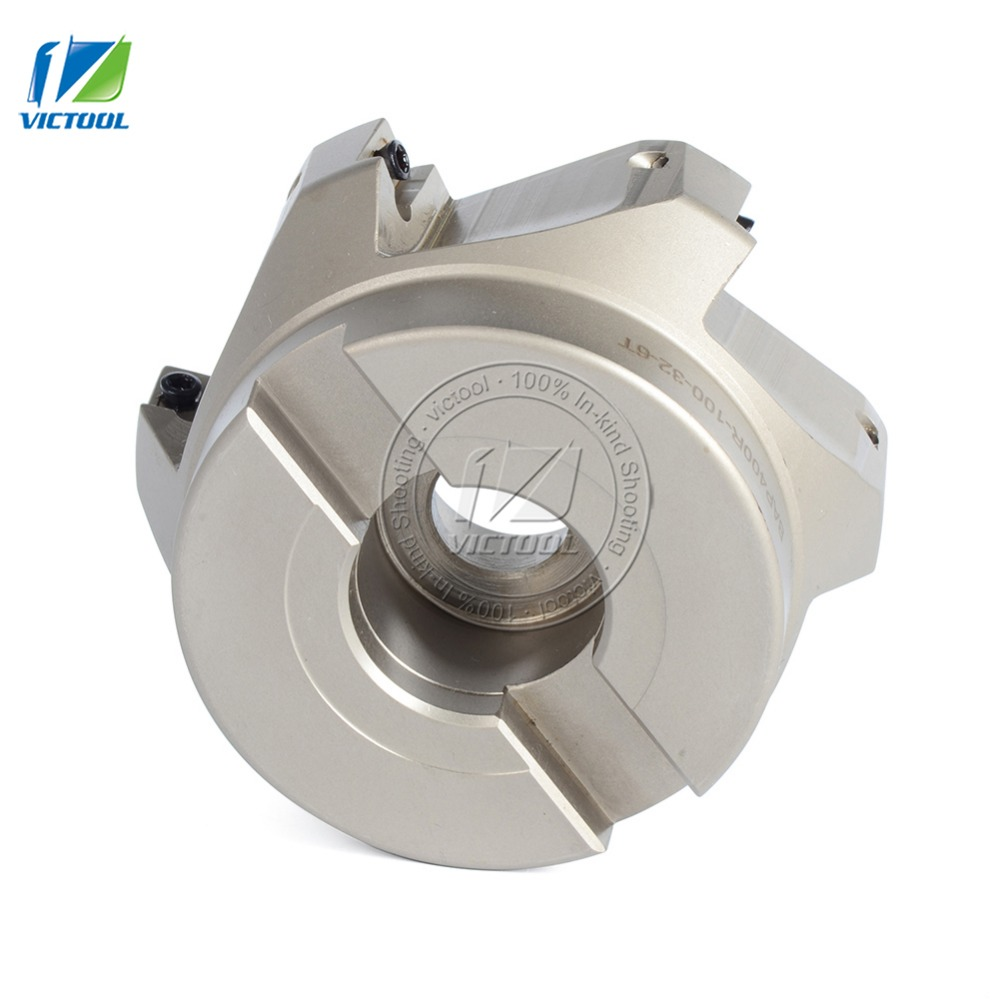 Free Shiping BAP400R*100*32*6T Milling tool For milling insert APMT1604 Face Mill Shoulder Cutter
