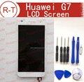 Para huawei ascend g7 tela lcd de alta qualidade display lcd + painel de toque digizer para huawei ascend g7 telefone inteligente frete grátis