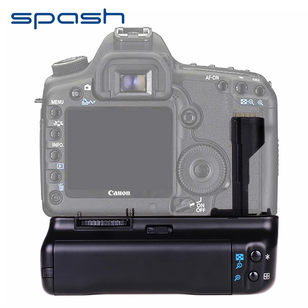 Spash Multi-Poder Vertical Aperto Da Bateria para Canon EOS 20D 30D Suporte Da Bateria BG-E2N 40D 50D DSLR Camera Substituir o Trabalho com BP-511