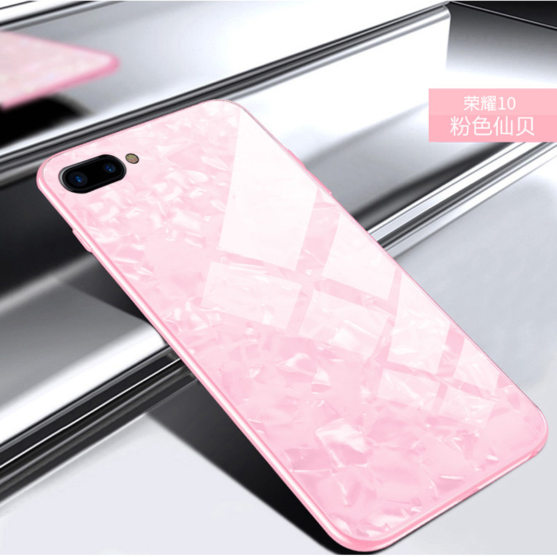For huawei honor 10 Case TPU+PC+Tempered Glass Luxury Cover for huawei honor v10 view Sh ...