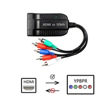 1080P HD Clear HDMI To RGB Component YPbPr video and R/L audio Adapter Converter цена