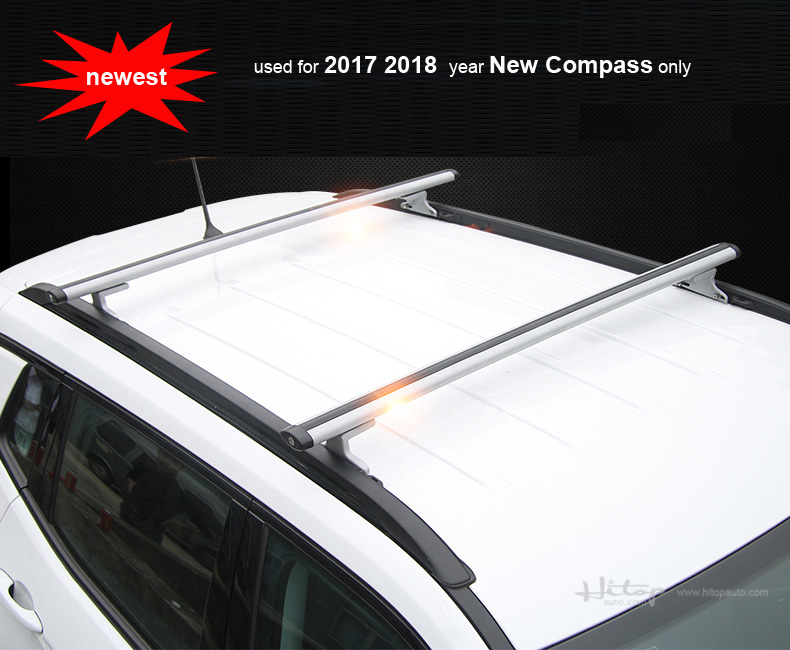 For Jeep Compass Cross Bar Roof Rail Roof Rack Roof Bar,for 2017  2018+.silver Or Black,free Shipping To Asia,reasonable Price. In Armrests  From Automobiles ...