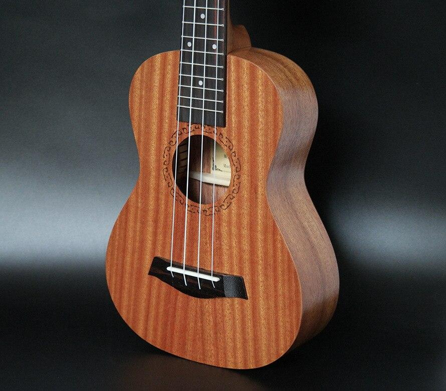 SevenAngel 26 pouces ténor électrique ukulélé acajou Mini hawaïen 4 cordes guitare palissandre Fretboard avec ramassage EQ - 2