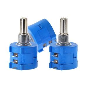 Free Shipping 3590S-2-103L 3590S 10K ohm Precision Multiturn Potentiometer 10 Ring Adjustable Resistor
