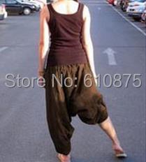 Wanita Musim Semi Pertengahan Elastis Pinggang 100% Katun Longgar - Pakaian Wanita - Foto 6