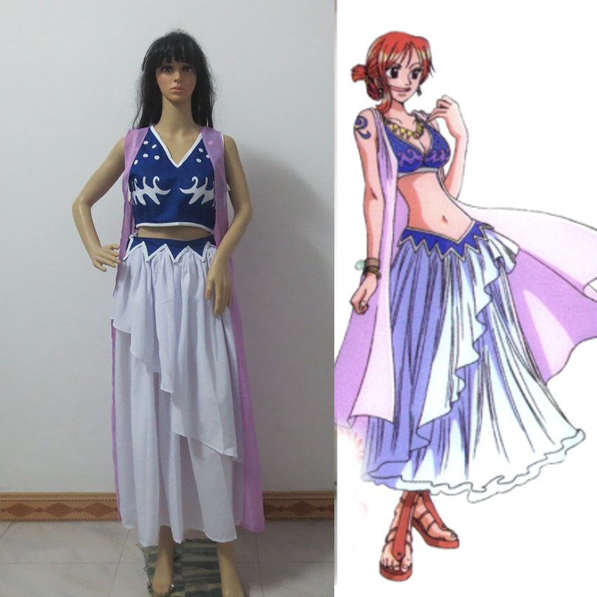 One Piece Nami Cosplay Costume Any Size Customized