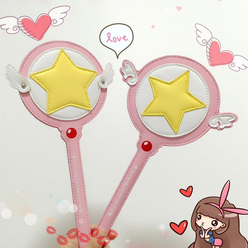 Costumes & Accessories Anime Cardcaptor Sakura Magic Wand Cute Cosplay Costumes Kinomoto Accessory Weapon Props Magic Wand Stick 15cm Pendant Online Discount Costume Props