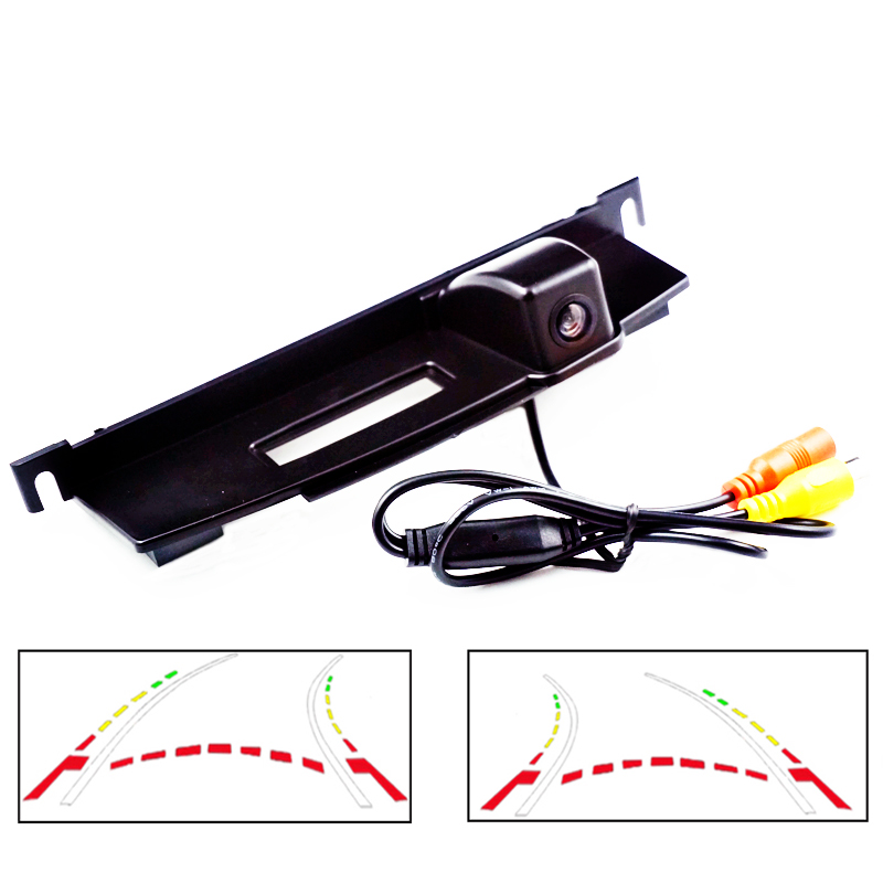600L Dynamic Trajectory camera For Nissan Tiida Hatchback trunk switch camera CCD HD car parking rear view camera car trajectory camera for daewoo gentra kalos tosca winstorm hd rear view reverse camera intelligent dynamic parking line