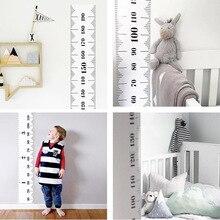 Requisiten Holz Wand Hängen Baby Höhe Messen Lineal Wand Aufkleber Dekorative Kind Kinder Wachstum Diagramm für Schlafzimmer Dekoration