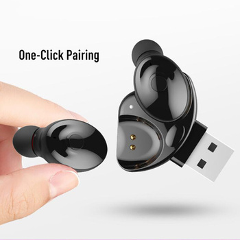 XG-17 TWS Cosfeffective DualEar Mini Wireless Bluetooth Stereo Earphone with Microphone Music Call IPX5Waterproof QuickConnectio