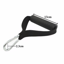 1 Pair of Pull Handles Resistance Bands TPE Non-slip Handle Ultra Heavy Duty Handles Fitness Equipment For Yoga Power Bands Gym