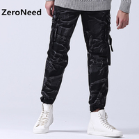 Camo Pants Camouflage Military Army Green Mens Baggy Pant 100 Cotton Mountain Cargo Pants Man Hike