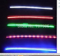only 1 pcs violin bow Stage performance effect violin bow Brazilwood bow rod Plus led light bar