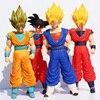 Retail 1pcs 36 43cm Dragon Ball Z Super Big Super Saiyan Vegeta Goku Son Gokon PVC