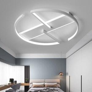 Image 2 - חדר שינה סלון LED תקרת אורות מודרני זוהר דה plafond moderne LED תקרת מנורת לילדים מחקר חדר