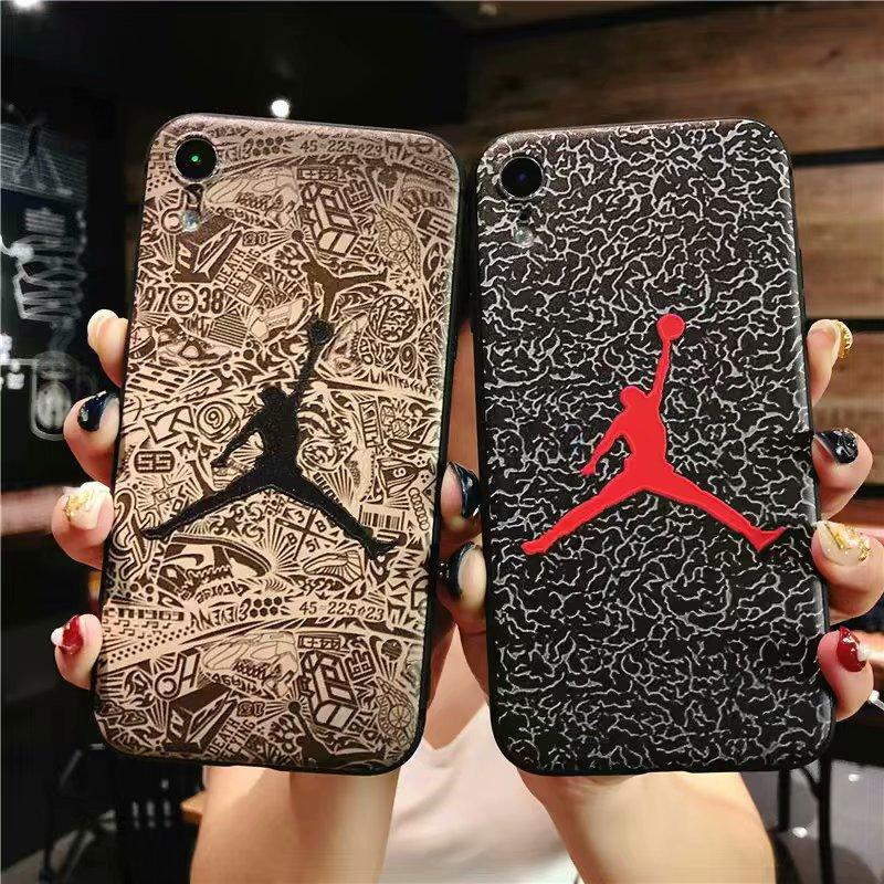 3a7f430113d For iPhone 8 Plus Case iPhone XS Jordan Phone Case For iPhone 6 6s 7 Plus  iPhone X XR XS Max Matte Soft TPU Silicone Cover