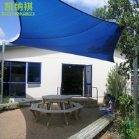 2 x 2 M/pcs Customized Square Shade Sail with free ropes for pool & balcony shade