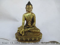China's Tibet Buddhism brass Buddha statue