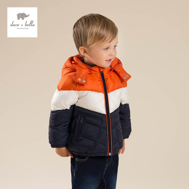 08bb5110a6b6 DB4630 dave bella children jacket boys winter padding jacket clothes kids  outerwear-in Down   Parkas from Mother   Kids