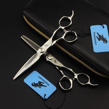 Freelander 6 Inch 9CR Hair Cutting Scissors Hairdressing Professional Thinning Shear Barber