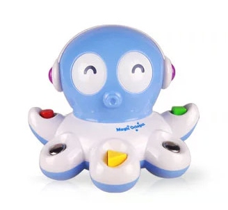 Sea Life Cute Octopus With Light Music Intelligent Nappy Tool New