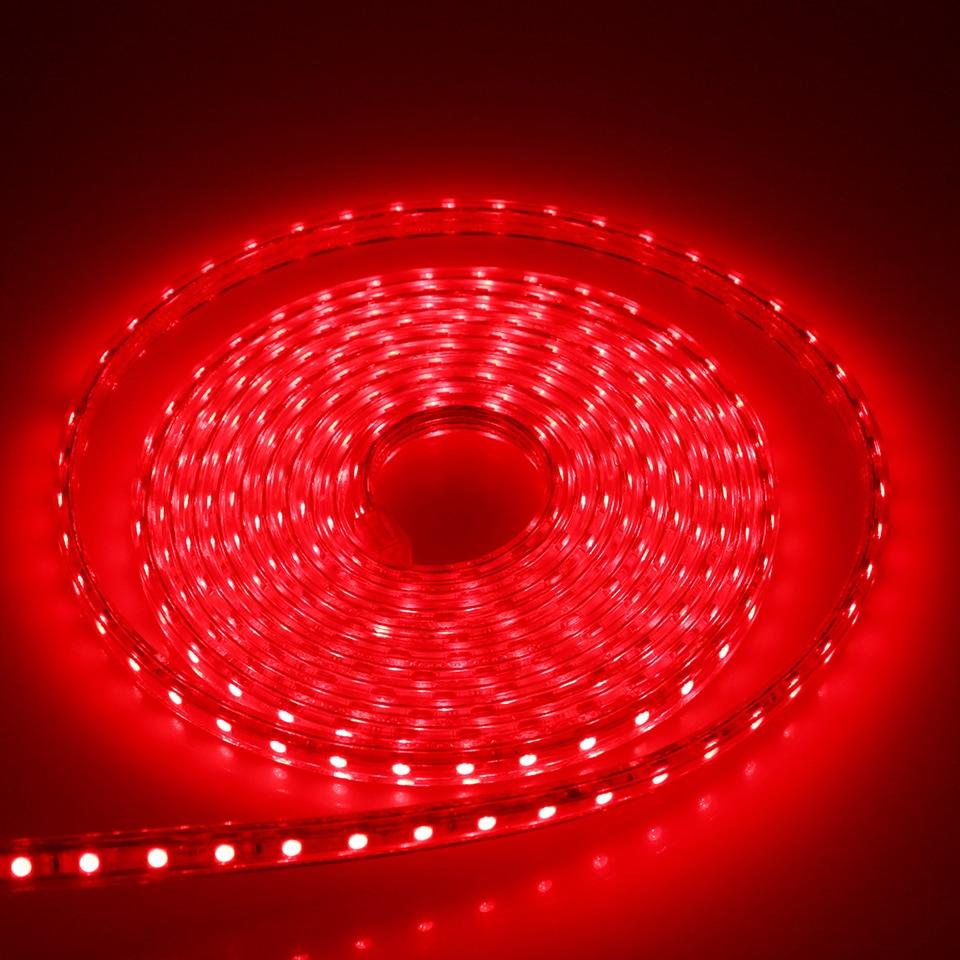 1Set LED Strip Light 5050 SMD AC220V Vattentät Silikonrör 1M / 2M / - LED-belysning - Foto 5