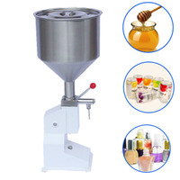 High Precision Small Bottle Handle Operated Stainless Steel Manual Nursing Liquid Detergent Eye Drops Filling Machine