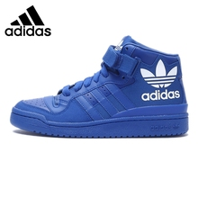 Original Adidas Originals Men's High Top Skateboarding Shoes Sneakers(China)