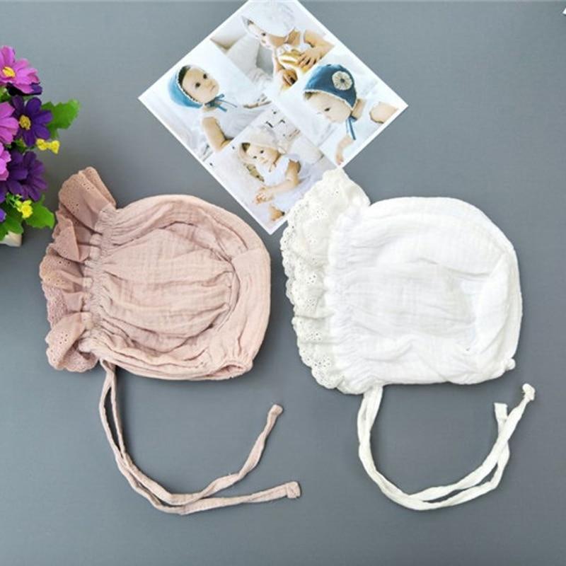 Nieuwe lente en zomer cap kinderen baby katoen prinses hoed - Babykleding - Foto 6