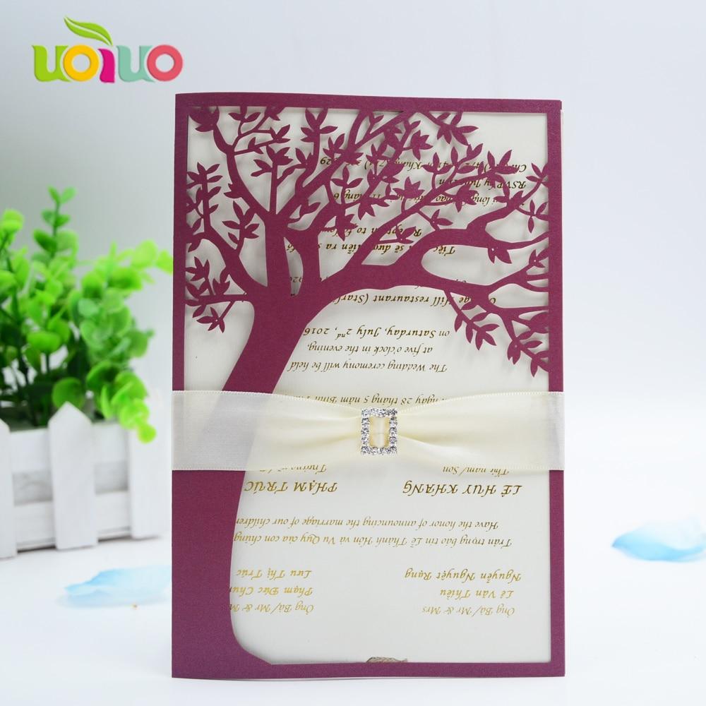 Hot pink nice 50pcs envelop laser cut 3d sweet bride groom wedding ...