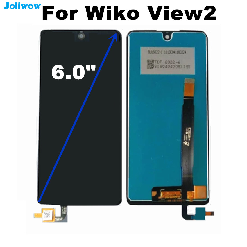 FOR WIKO VIEW2 VIEW 2 PRO LCD Display+Touch Screen Digitizer Assembly Replacement Accessories for VIEW2 PRO LCD DisplayFOR WIKO VIEW2 VIEW 2 PRO LCD Display+Touch Screen Digitizer Assembly Replacement Accessories for VIEW2 PRO LCD Display